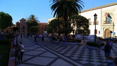 TALAVERA | Concentración en la Plaza del Pan