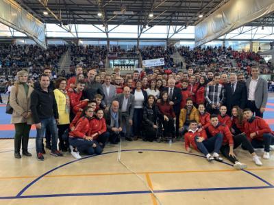 El Gobierno regional destaca los logros que está consiguiendo el karate castellano-manchego