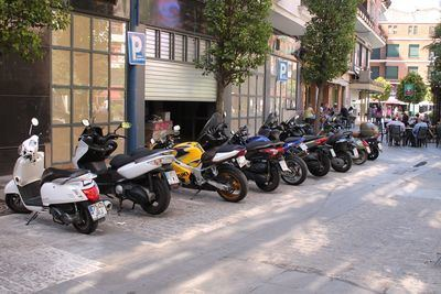 Ventajas de la moto en la movilidad urbana talaverana