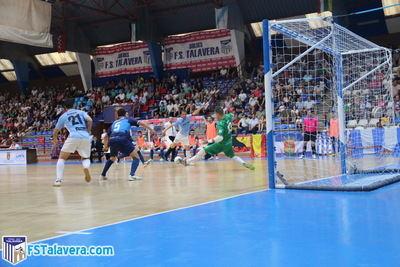 El Soliss FS Talavera hizo todos los méritos para ganar y acabó perdiendo