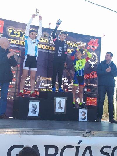 Javier López consigue el primer puesto en el circuito BTT de Aldea del Fresno