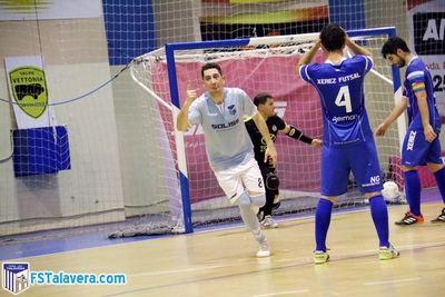 El Soliss FS Talavera golpea primero en la ida del playoff de ascenso