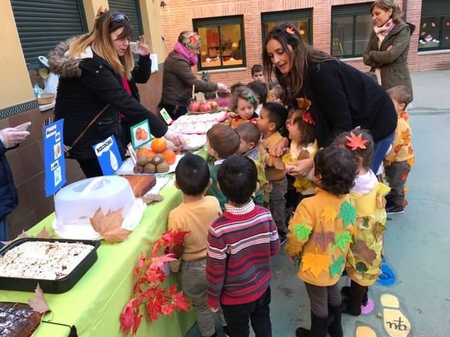 El colegio Juan Ramón Jiménez celebra su tradicional 'Fiesta de Otoño'