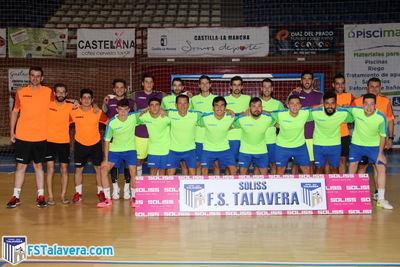El Soliss FS Talavera inició este lunes los entrenamientos de pretemporada