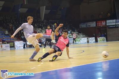 La intensidad del Santiago Futsal tumba al Soliss Fútbol Sala Talavera
