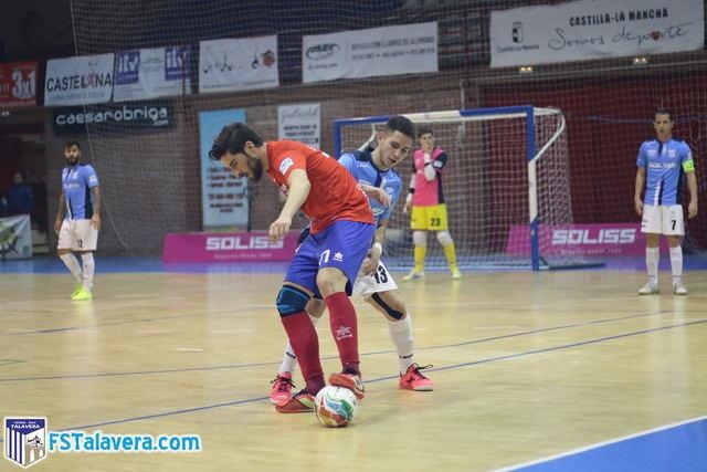 Al Soliss FS Talavera le sobraron los tres últimos minutos ante el Software Delsol Mengíbar