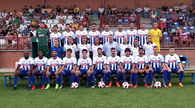 El CF Talavera estrena equipación frente al CF Fuenlabrada este sábado