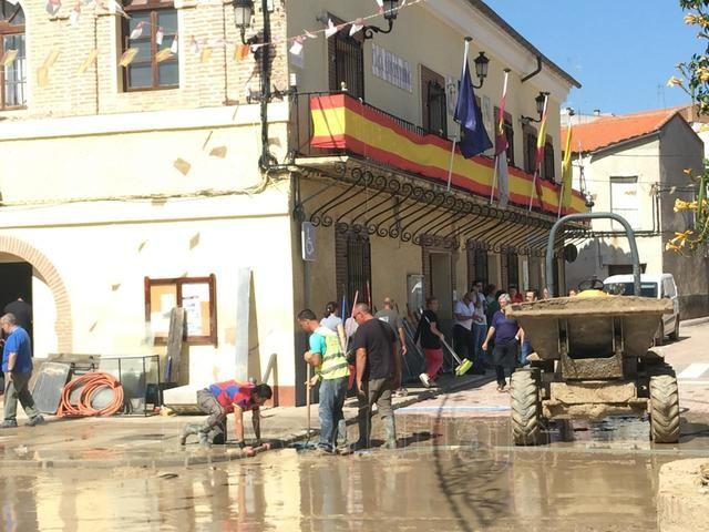 Los afectados en Cebolla podrán pedir ayudas a rehabilitación de vivienda de la Junta cuando se declare Zona Catastrófica