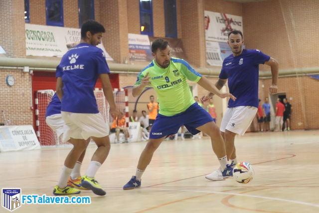 El Soliss FS Talavera solventa con victoria el test de Móstoles