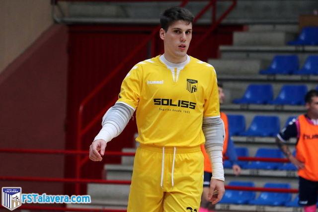 El Soliss FS Talavera repetirá su dupla en la portería con la renovación de Gonzalo
