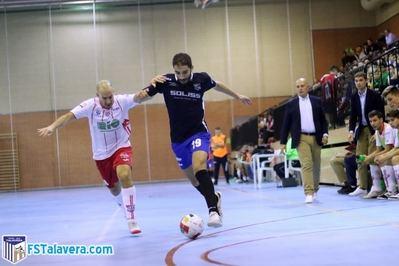 El Soliss FS Talavera entra tarde en el partido y firma su eliminación copera ante el Leganés FS