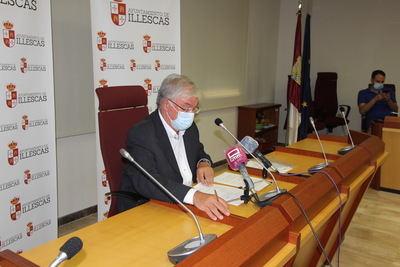 ILLESCAS | Llamamiento del alcalde a los vecinos por el aumento de casos Covid-19 (vídeo)