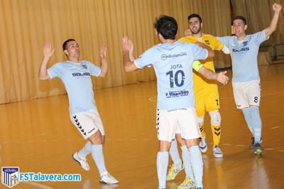 El Soliss FS Talavera sobrevive a un mal día para sumar tres nuevos puntos