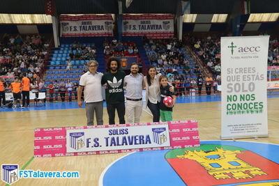 El Soliss FS Talavera arrancó la temporada del 'Jugador Número Seis' con la visita de la AECC