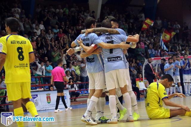 Victoria del Soliss FS Talavera contra un Gran Canaria FS muy duro ante la presencia del madridista Marcelo