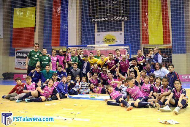 El Soliss FS Talavera ya es campeón del grupo IV de Segunda División 'B'