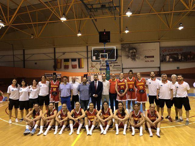 La Selección sub 18 de Baloncesto Femenino que se prepara para el Europeo