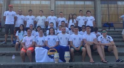 Club de ganadores: los nadadores del CN Aqüis, campeones masculinos y subcampeonas femeninas