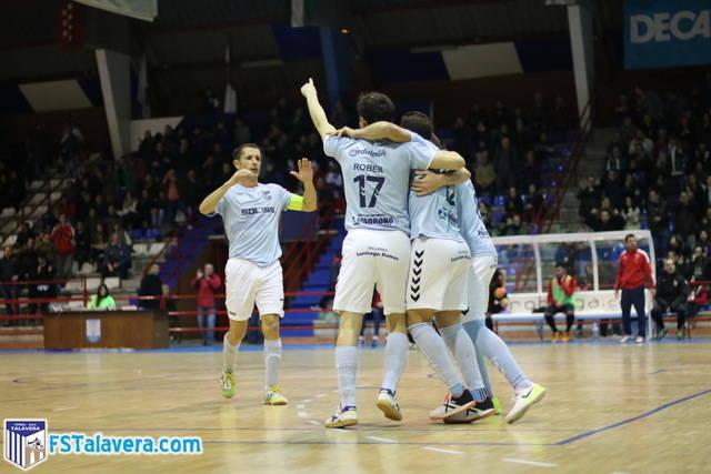 El Soliss FS Talavera se regala una victoria de líder ante Leganés FS por navidad
