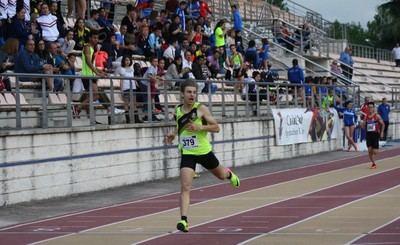 Participación talaverana en el Campeonato de España Sub18 de atletismo celebrado en Gijón