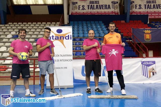 El Soliss FS Talavera y ATANDI firman un acuerdo de colaboración