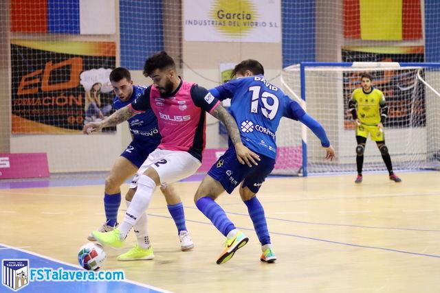 El Soliss FS Talavera gripa en casa y cae en los minutos finales ante Bisontes Castellón