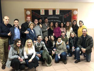 FOTOS | Encuentro de antiguos alumnos del Colegio Juan Ramón Jiménez