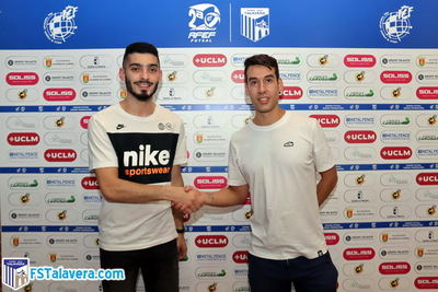 El Soliss FS Talavera alista a 'Porto' antes de su estreno de curso