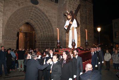 FOTOS | El Vía Crucis del Miércoles de Ceniza inicia la cuenta atrás para la Semana Santa