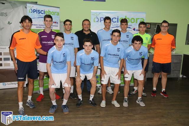 Pisciébora seguirá una temporada más patrocinado al Juvenil del Soliss FS Talavera