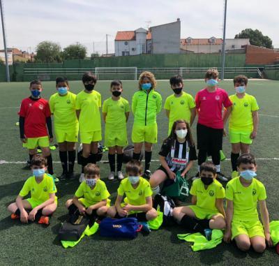 CF ÉLITE TALAVERA   El deporte escolar vuelve a los campos de fútbol de Talavera de la Reina