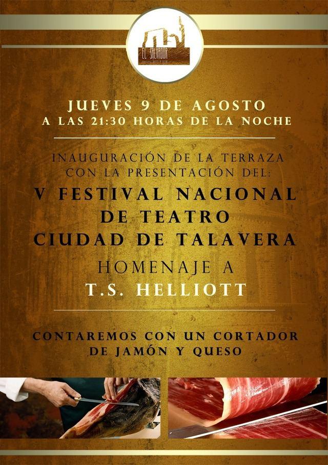 Terraza El Salvador abre sus puertas con la inauguración del V Festival Nacional de Teatro Ciudad de Talavera