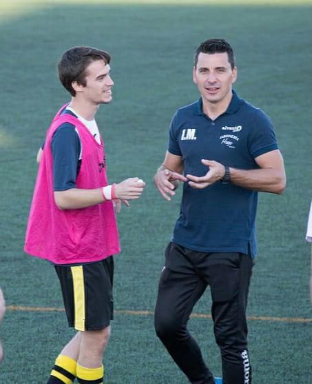 Ismael Martín en su anterior etapa como entrenador