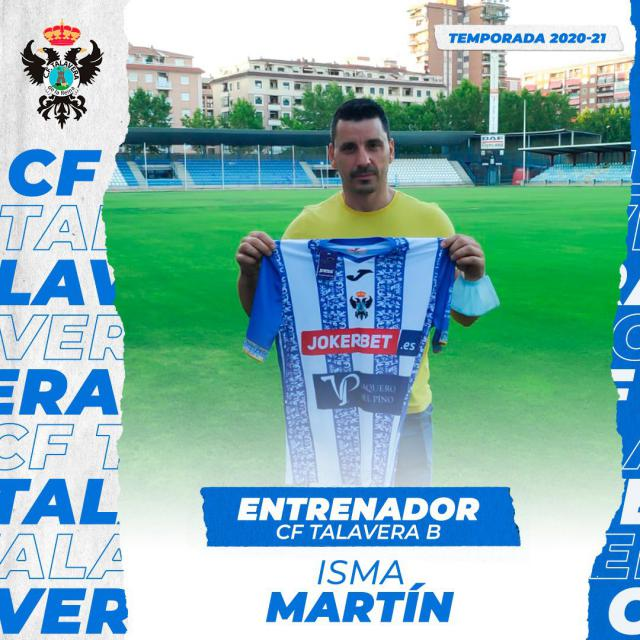 CF TALAVERA | Ismael Martín, técnico del filial