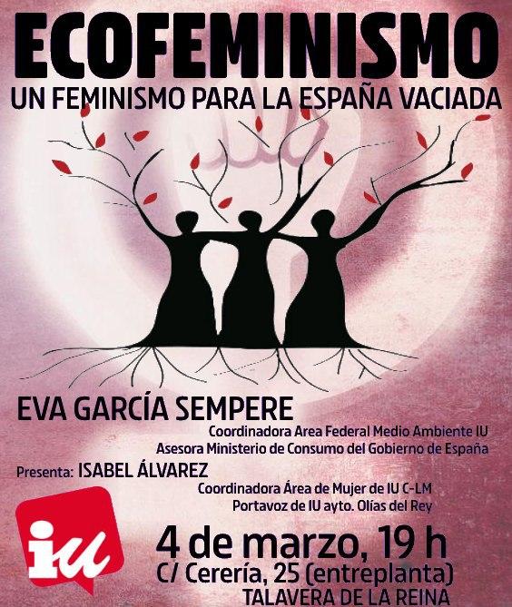 IU Talavera celebra un acto sobre Ecofeminismo y la España Vaciada