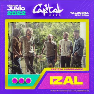 Confirmado: IZAL revolucionará el Capital Fest