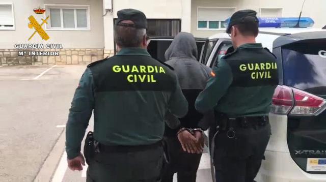 Detenido por cometer un robo con violencia e intimidación en una gasolinera de Bonete