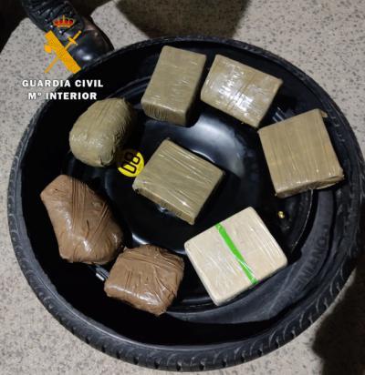 Detenidas cinco personas por tráfico de drogas