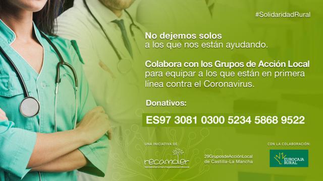 COVID-19 | Más apoyo a nuestros sanitarios