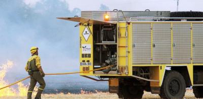 Controlado el incendio forestal en El Casar de Escalona
