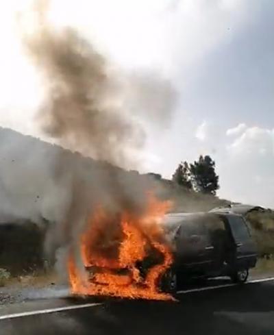 Así comenzó el incendio de Navalacruz