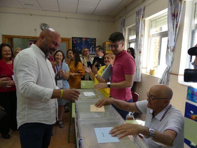 """García Molina: """"Espero y deseo que la gente vote para que Castilla-La Mancha siga contando con un gobierno de progreso"""""""