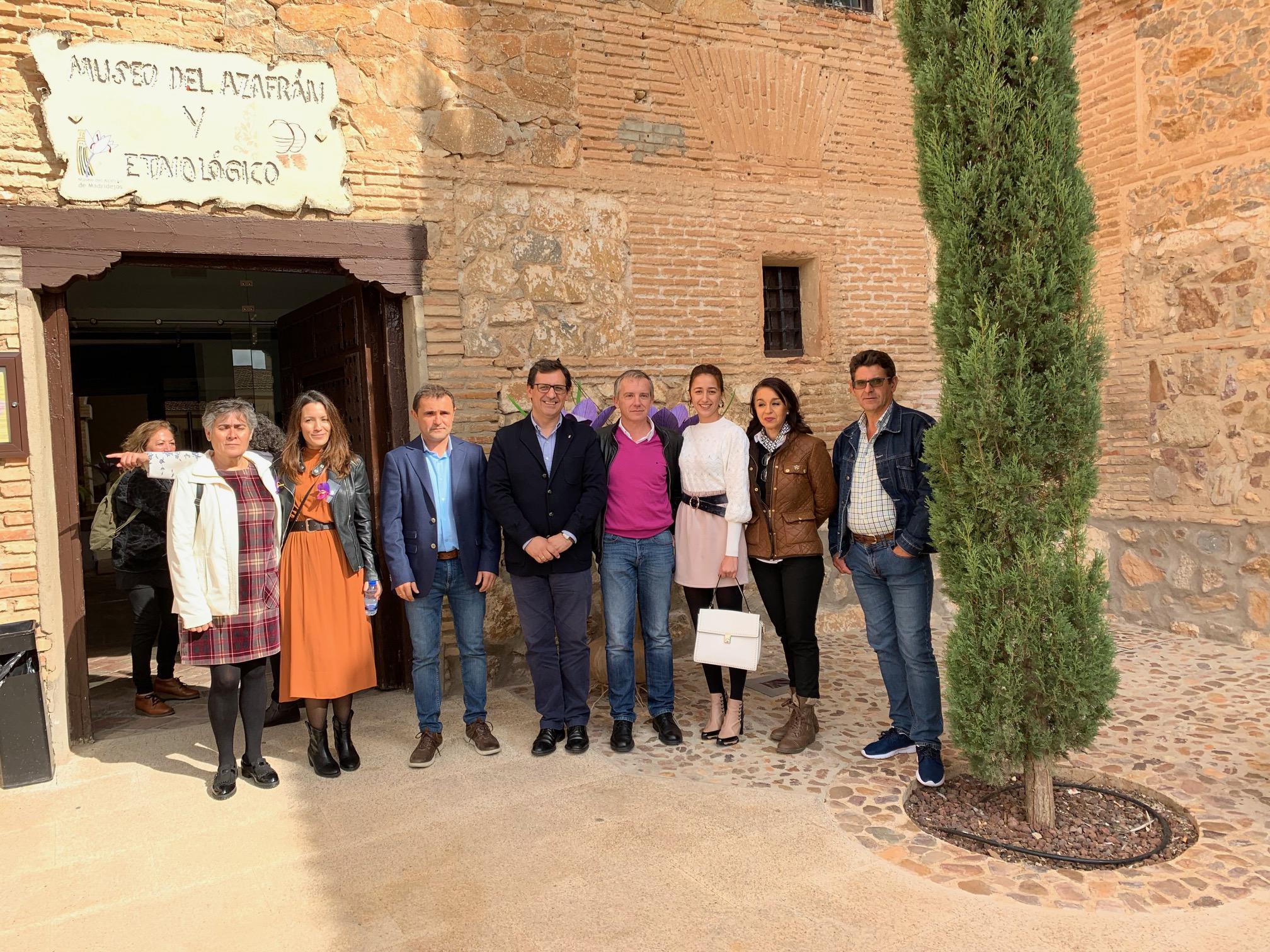 El Gobierno regional traslada a la DOP Azafrán de La Mancha su apoyo