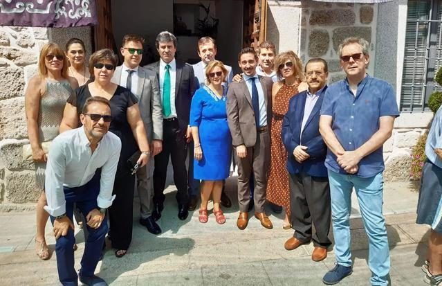 El diputado José Antonio Ruiz asiste a las fiestas del Cristo de la Cruz a Cuestas