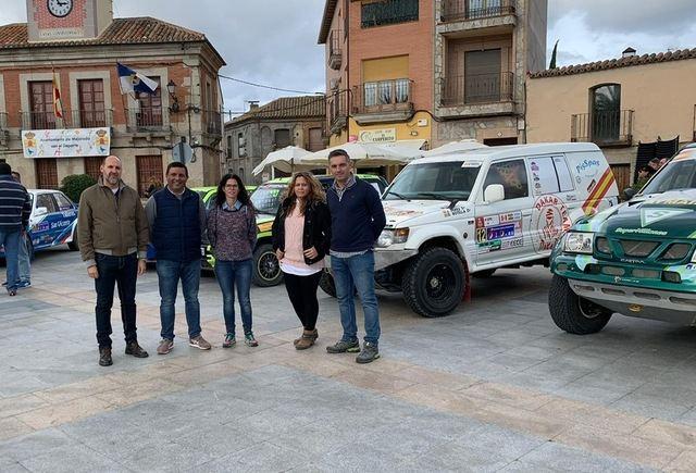 El alcalde de Mejorada en su localidad.