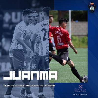 Juanma seguirá al frente de la defensa del CF Talavera