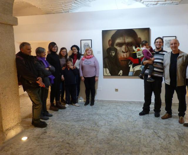 San Clemente acoge una exposición de 54 obras del toledano Julián Orgaz