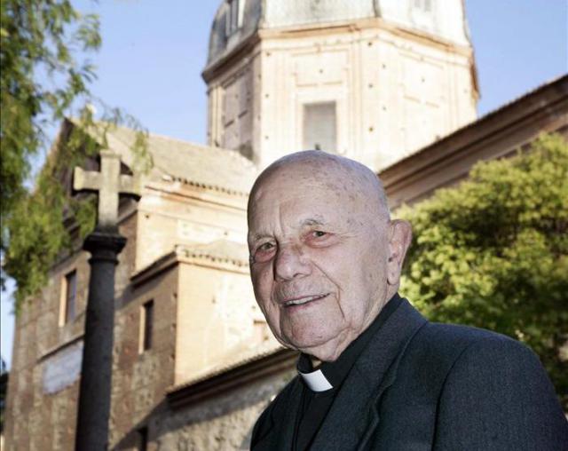 Fallece en Talavera Julio Damián Muñoz, el sacerdote más anciano de España