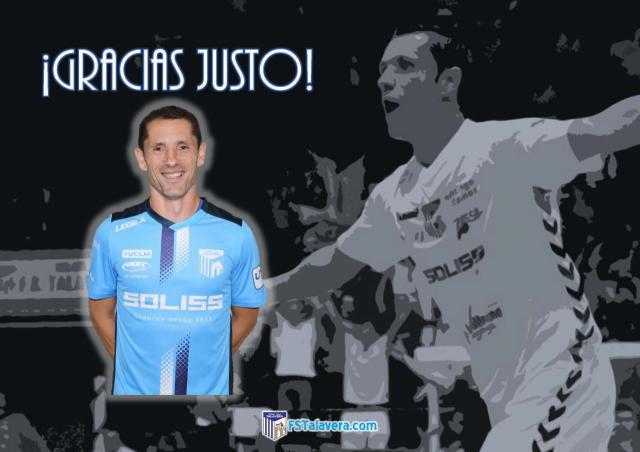 Justo Cáceres abandona la disciplina del Soliss FS Talavera