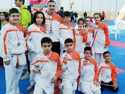 Los karatecas de Torrijos volvieron con 6 medallas del Campeonato CLM de Clubes